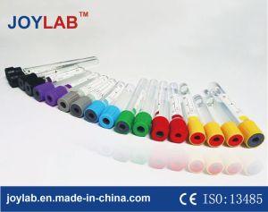 El tubo de extracción de sangre desechable con buen precio, el PET o vidrio