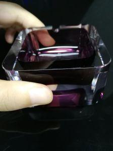 2016 Nuevo estilo de forma de bola de cristal de vidrio artesanal cenicero