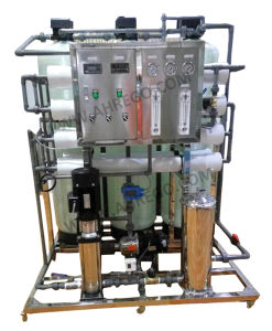 2000L в час чистой воды системы обратного осмоса линии