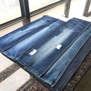 8.7Oz Denim de algodón tejido Poly Spandex tejido Denim Stretch