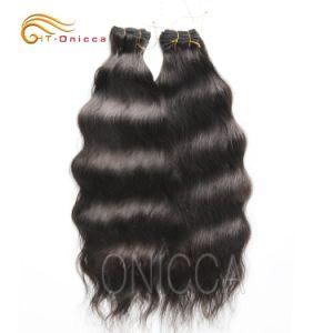 Салон красоты с возможностью горячей замены оптовой Virgin Реми естественного человеческого волоса кривой