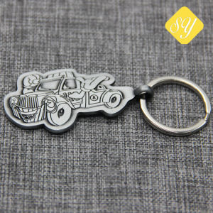 precio de fábrica China de Promoción de Metal Llavero de coche Logotipo personalizado