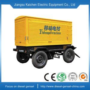 Generatore diesel aperto di silenzio mobile 10kw autoalimentato