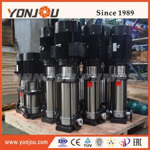 Edelstahl-Wasser-Druck-Förderpumpen, vertikale Inline-Mehrstufenpumpe