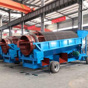 Cromado Trommel móvel planta de lavagem com alta taxa de recuperação