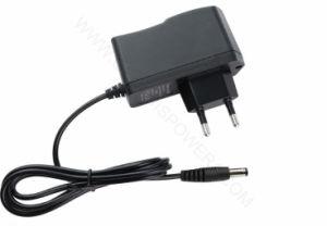 12V 1A AC/DC Adaptador de alimentación, viajes el enchufe del cargador de LED de alimentación, adaptador de alimentación de conmutación con Ce RoHS de luz LED/monitor/pantalla/Strip...