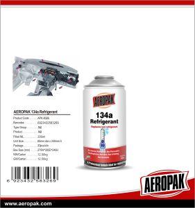 Aeropakのガスの冷却剤、カーケアのための環境に優しい134A冷却剤