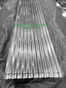 Feuille d'acier de toiture en tôle ondulée