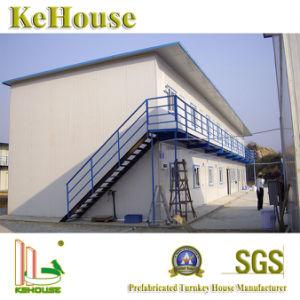 居間のためのDhabiの構造スチールの現代モジュラープレハブの家