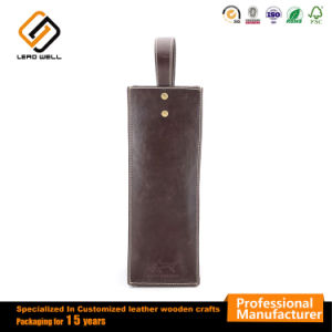 Singolo sacchetto del regalo dell'elemento portante del vino di vendita calda con la maniglia
