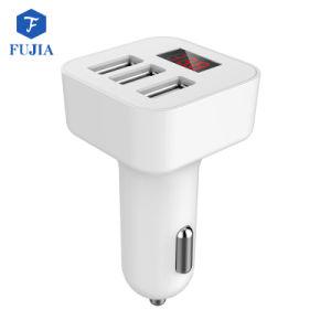 La batería del teléfono accesorios para vehículos de Shenzhen QC 3.0 Custom 3 Puerto micro USB Cargador de coche para el rastreador de GPS con Bluetooth