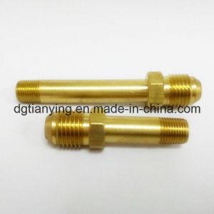 El latón Plumping Aceite de montaje de accesorios de tubería niple macho