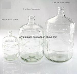 1 de Mandefles van het Glas van de Wijn van de gallon, de Grote Fles van het Water van het Glas
