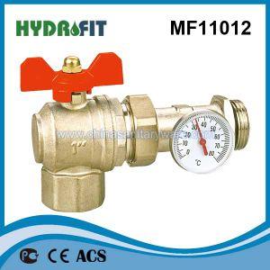 Heißer Verkaufs-Messingkugelventil (MF11012)