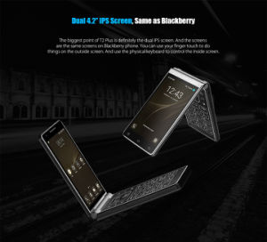 Vkworld original T2 Plus 4G Android 7.0 Flip Smart Phone