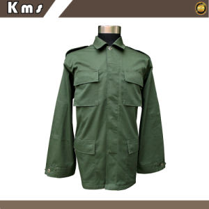 Engrenagem de tácticas para homens verde azeitona Camouflage Bdu uniforme militar (BDU-TIB)