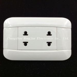 Hot vender material ABS de América del Sur el interruptor de pared de contacto de cobre (G801)