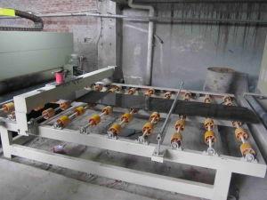 máquina de polir Pedra Linha de Polimento automático