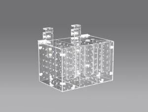 Acrylquarantäne-Kasten RM-3b abbauen