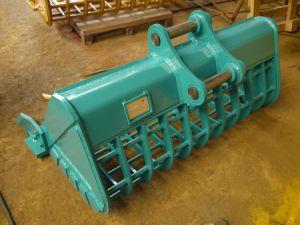 Standardgrößen-hydraulische Exkavator-Screening-Wanne Soem-20t/Wannen-Zerkleinerungsmaschine für Exkavator