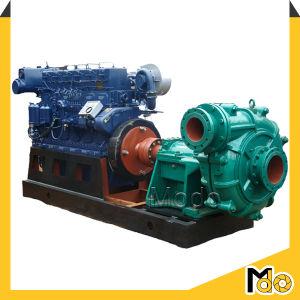O motor diesel da bomba de chorume Horizontal