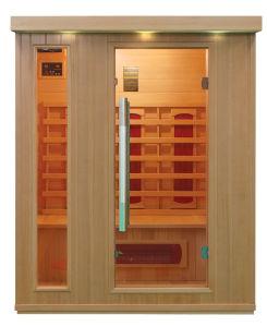 Pequena Casa mais barato 2 Pessoa Infravermelho Distante Quarto sauna interior (QD-BP2)