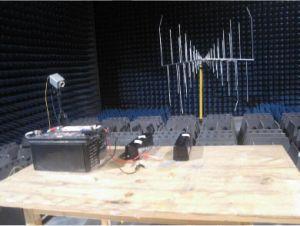 LED表示(ABH-250)が付いている屋外の赤外線ビーム探知器
