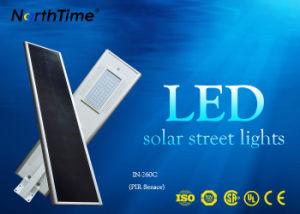 4 de werkende ZonneStraatlantaarn van batterijkabels van Wijzen LiFePO4 Allen in