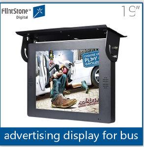 Flintstone 19-дюймовый ЖК-дисплей высокой четкости на открытой раме цифровую рекламу экран для продажи используется в автомобиле
