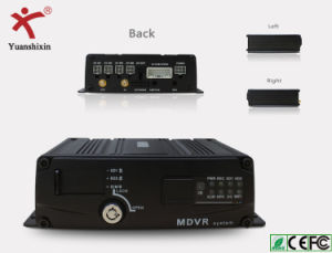 4CH Dual Mini Sd Card Vehicle Mobile DVR, GPS Tracking, (Economical)