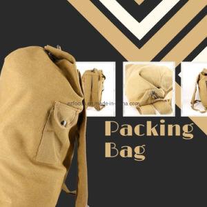 Mochila de lona pesado saco de embalagem grande capacidade da mochila de Viagem Bag14470 ESG