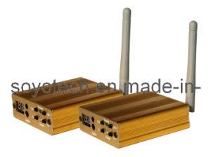 Estéreo Hifi 2,4Ghz, Sistema de Transmissão de música sem fios