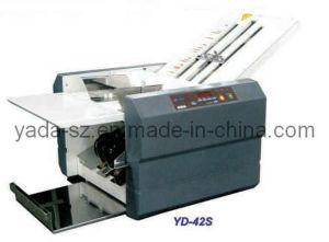 Alimentación Semi-Auto Oficina máquina de plegado de papel (YD-42S)