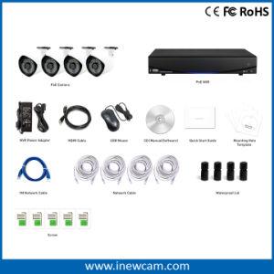 1080P IPのカメラ4CH NVRの保安用カメラシステム