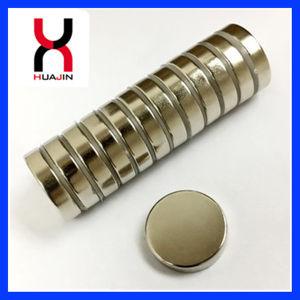 NdFeB imán de disco, Rare Earth Magnet sinterizado