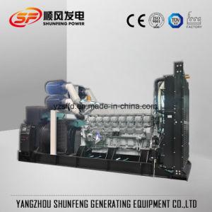 generatore diesel di potere di 1375kVA 1100kw Mitsubishi Electric con il Ce di iso
