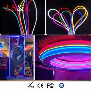 Striscia flessibile impermeabile dell'indicatore luminoso al neon del LED RGB