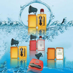海洋の電話Knsp-15は拡声器が付いているトンネルの通話装置を防水する