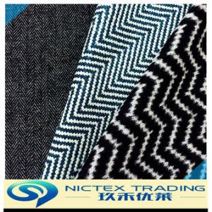 Tweed шерстяной ткани шерсть рисунком елочкой, тканого шерсть нанесите на ткань, шерсть смешанные ткани