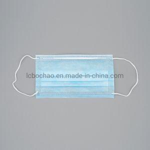 Medical des masques jetables de haute qualité de soins de la peau Non-Woven Performance-Price3 PLY Masque Masque facial Pm 2,5