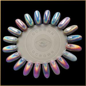 De Spijker van de laser schittert Vlokken, het Holografische Pigment van de Regenboog van de Suiker, Poeder Holo