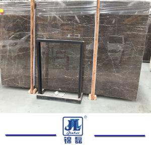 Chinees Natuurlijk Opgepoetst Gouden Marmer Nero voor Countertop/van het Bassin Gootsteen/Binnenlandse Bevloering/Muur/Tegels