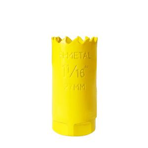27mm 직경 M3 고속 강철 (HSS) 잎 두금속 구멍은 보았다