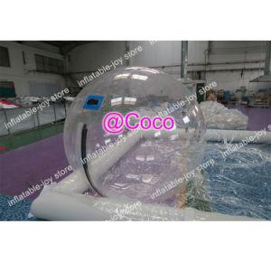 Claro agua inflables poca bola Zorb Ball humano inflable grande Globo caminando con la profesión Zipper