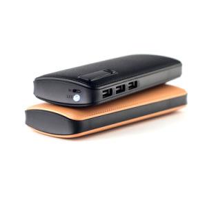 10, 000mAh Banco de potencia con 3 puerto de salida USB para teléfono móvil