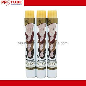 Los tubos de envases cosméticos/tubo de tintes capilares/aluminio tubo plegable