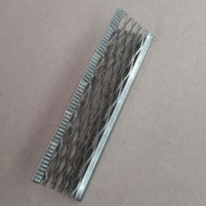 Cordão de canto de ângulo para a parede externa da estucagem tradicional