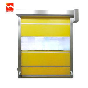 Industrial Rollo de PVC de alta velocidad hasta la puerta con la certificación CE (HF-K05).