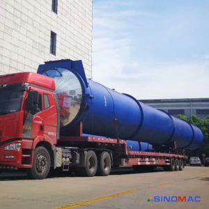 2.85X38mの蒸気暖房の通気された具体的な煉瓦オートクレーブ