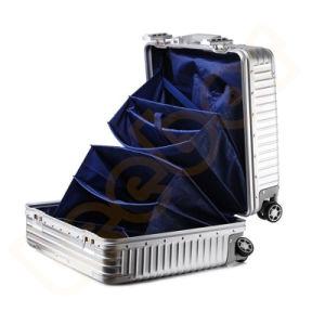 ピンクカラーカスタム女性のコンピュータのラップトップのトロリー旅行袋のスーツケースか荷物